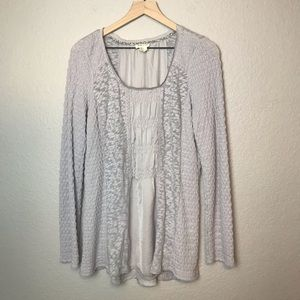 Anthropologie Meadow Rue Knit Sweater